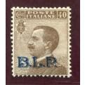 1922/3 Regno BLP 40 cent. II tipo centrato