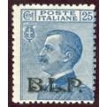 1922/3 Regno BLP 25 cent. II tipo