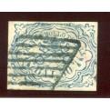 1852 Pontificio 50 baj azzurro scuro