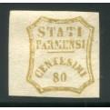 1859 Parma 80 cent. bistro oliva