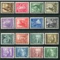 1938 Regno Impero 16 valori nuovi