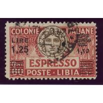 1927 Libia Espresso sovr. nera usato