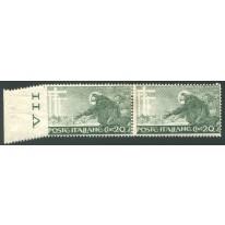 1926 Regno San Francesco 20 cent. non dentellato
