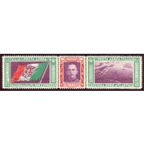 1933 Regno trittico Servizio di Stato centrato