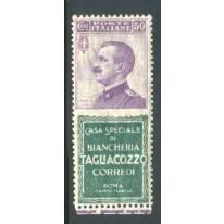 1924/25 Regno Pubblicitari 50 c. Tagliacozzo